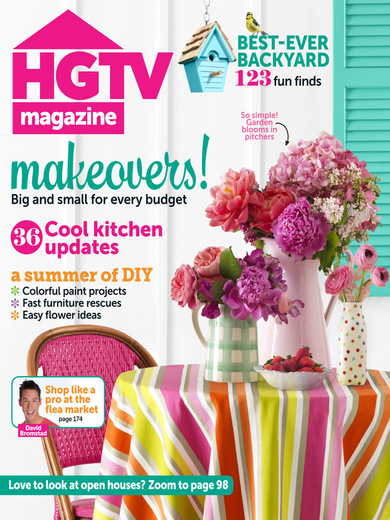 HGTV Magazine, July/August 2013