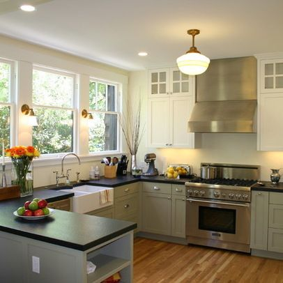 Kitchen Layout With Curved Island Ideas