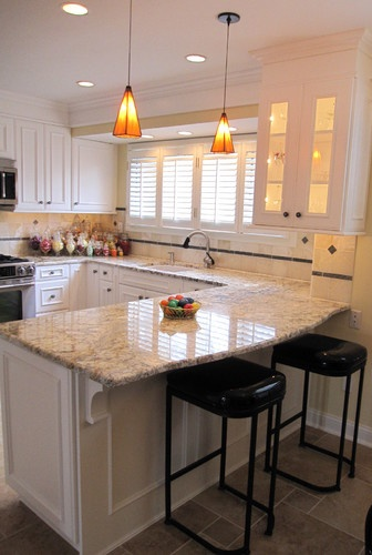 island vs peninsula which kitchen layout serves you best kitchen with peninsula traditional kitchen detroit