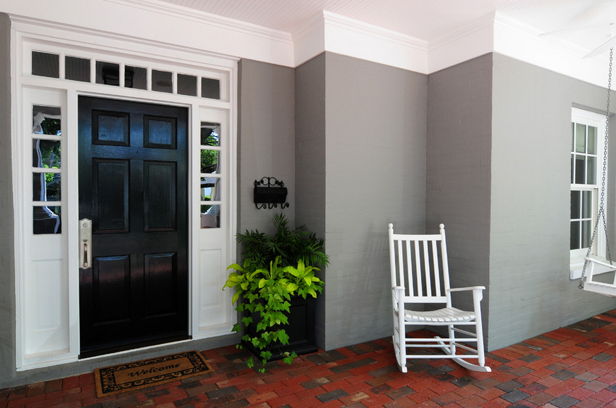 Front Doors with a High Gloss Finish Make Every Entrance Grand