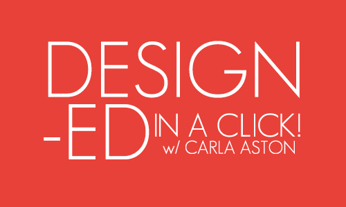 Design advice in a CLICK!