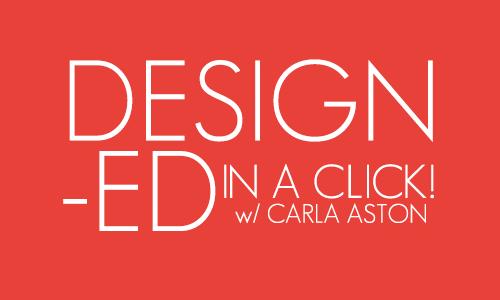 Design advice in a CLICK!