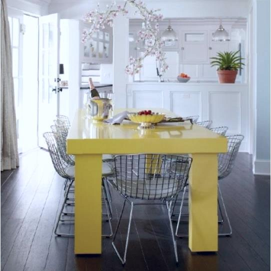 Paint a Single Piece of Furniture to Add a Colorful Punch to Any Room