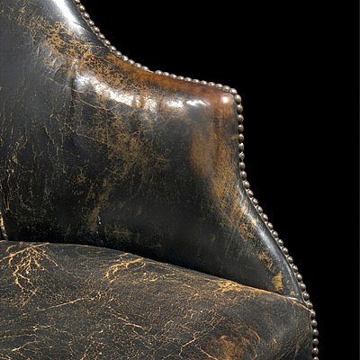 ARTICLE + GALLERY: Vintage Leather Upholstery Has a Place In Many Types of Interiors