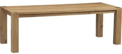 """Big Sur Natural 90.5"""" Dining Table 