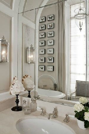 ARTICLE + GALLERY: Make Room for More Natural Light w/a Beautiful, Bright Mirror