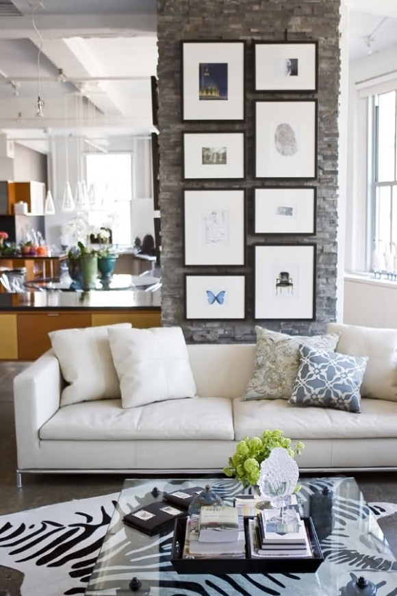 ARTICLE + GALLERY: How To Hang Art On a Wall, Vertically   +13