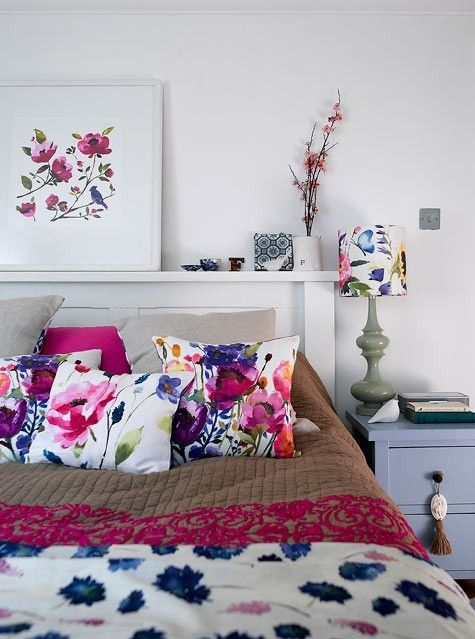 12 Cool Teen Girl Bedrooms - Designer: Fiona Douglas, via:  Design Sponge