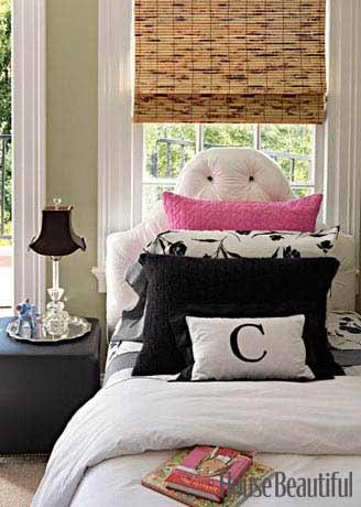 12 Cool Teen Girl Bedrooms   Image Source: House Beautiful , Designer: Ken  Fulk
