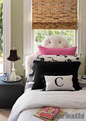 12 Cool Teen Girl Bedrooms - Image Source: House Beautiful, Designer: Ken Fulk