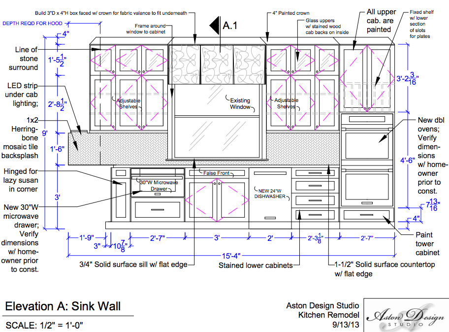 This Is Why Interior Designers Do Drawings Before A Project Begins Designed W Carla Aston