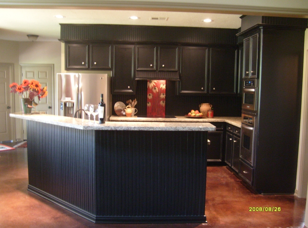 Can 39 t rip out your kitchen 39 s furr downs do this designed for Bulkhead above kitchen cabinets