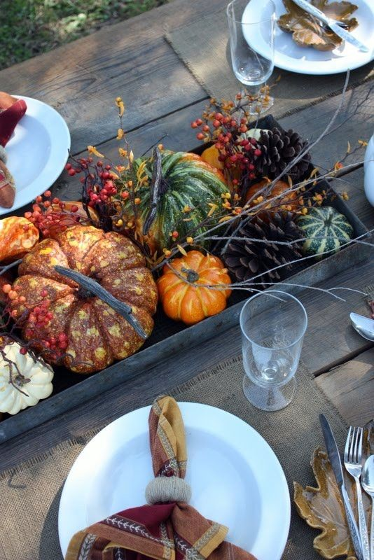 No Instructions Needed For These 14 Fall Tabletop Ideas — DESIGNED