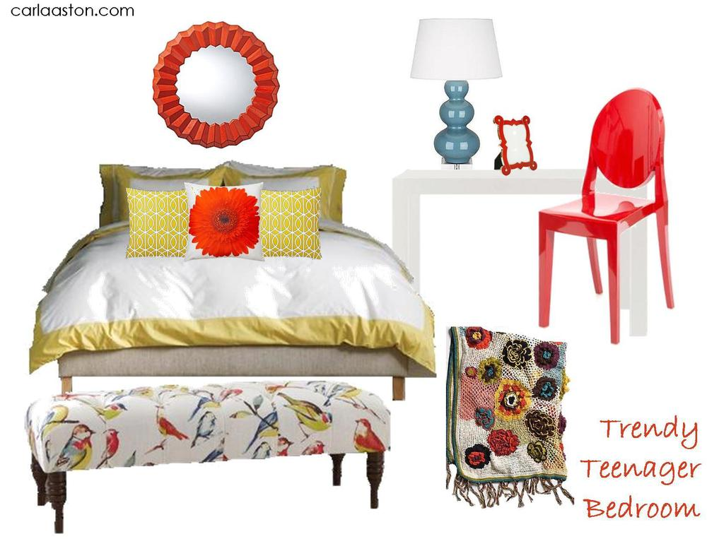Click here to check out these cool items with some tips to help update your daughter's bedroom!
