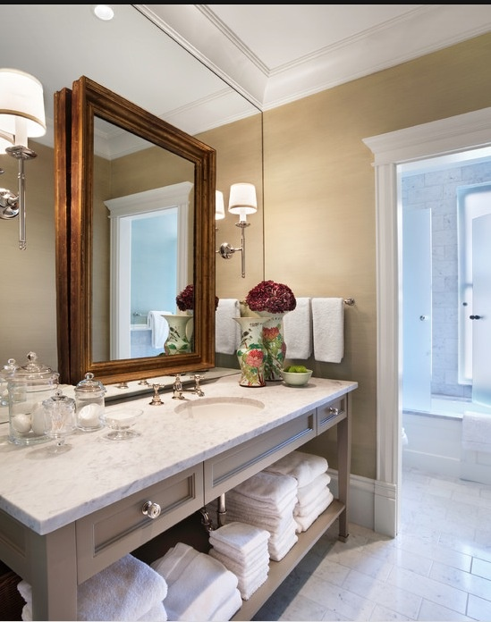 Mirror on top of mirror? Oh, yes. 12 Gorgeous Examples.