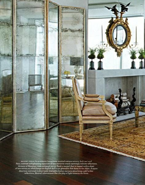 Mirror on top of mirror - Oh, yes. 12 Gorgeous Examples