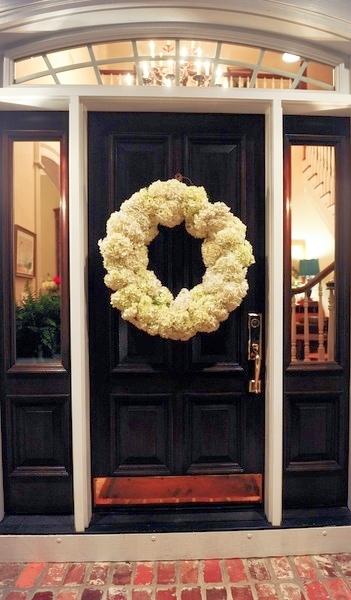 Wreaths Always Look Better On A Black Door Designed W