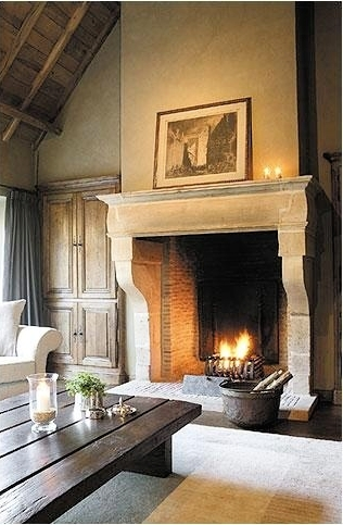 15 Fireplaces So Large So Grand You Can Almost Walk Into Them