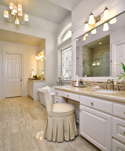 Before & After: Master Bath Turned Elegant Retreat