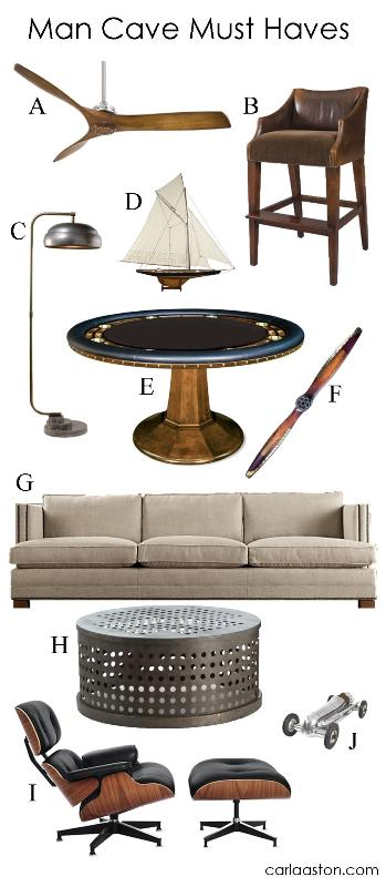 Must Have Man Cave Accessories : Must have man cave furnishings decor designed w