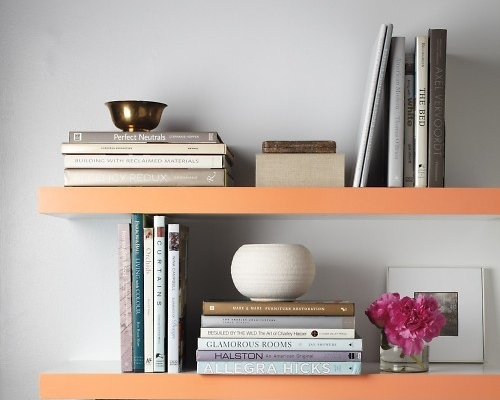 Simply color the edge, of anything, to take a piece of furniture or decor from ordinary to extraordinary.