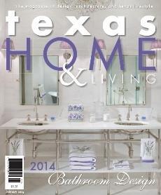 Texas Home & Living, Master Bath Remodel, January 2014