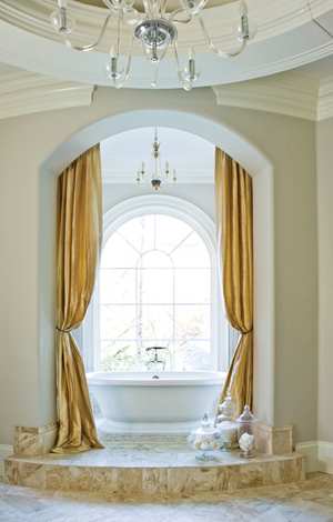 Designer: Tish Mills, Image via:  Atlanta Homes & Lifestyles