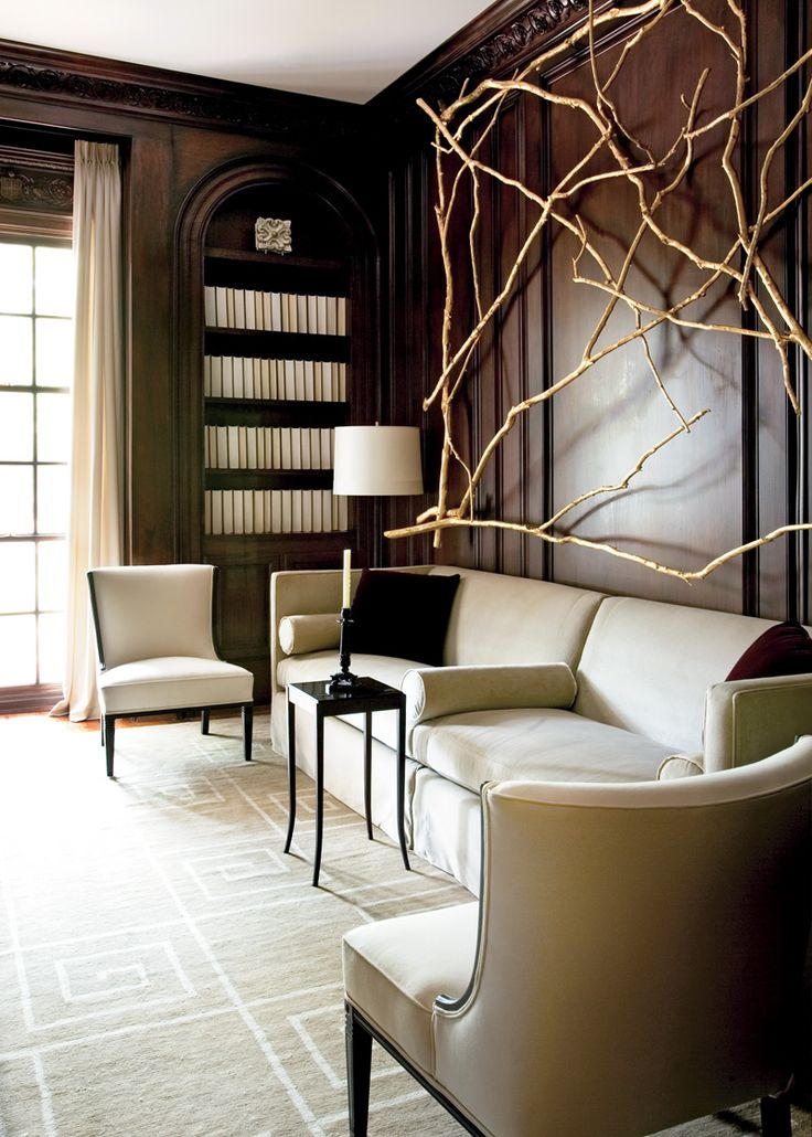 Designer: Shon Parker, Image via: Atlanta Homes & Lifestyles
