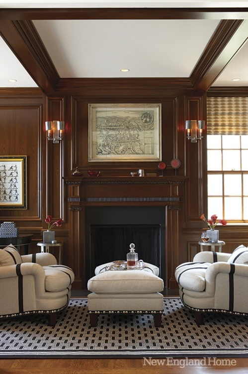 How To Make A Dark Paneled Room Look Fresh Light