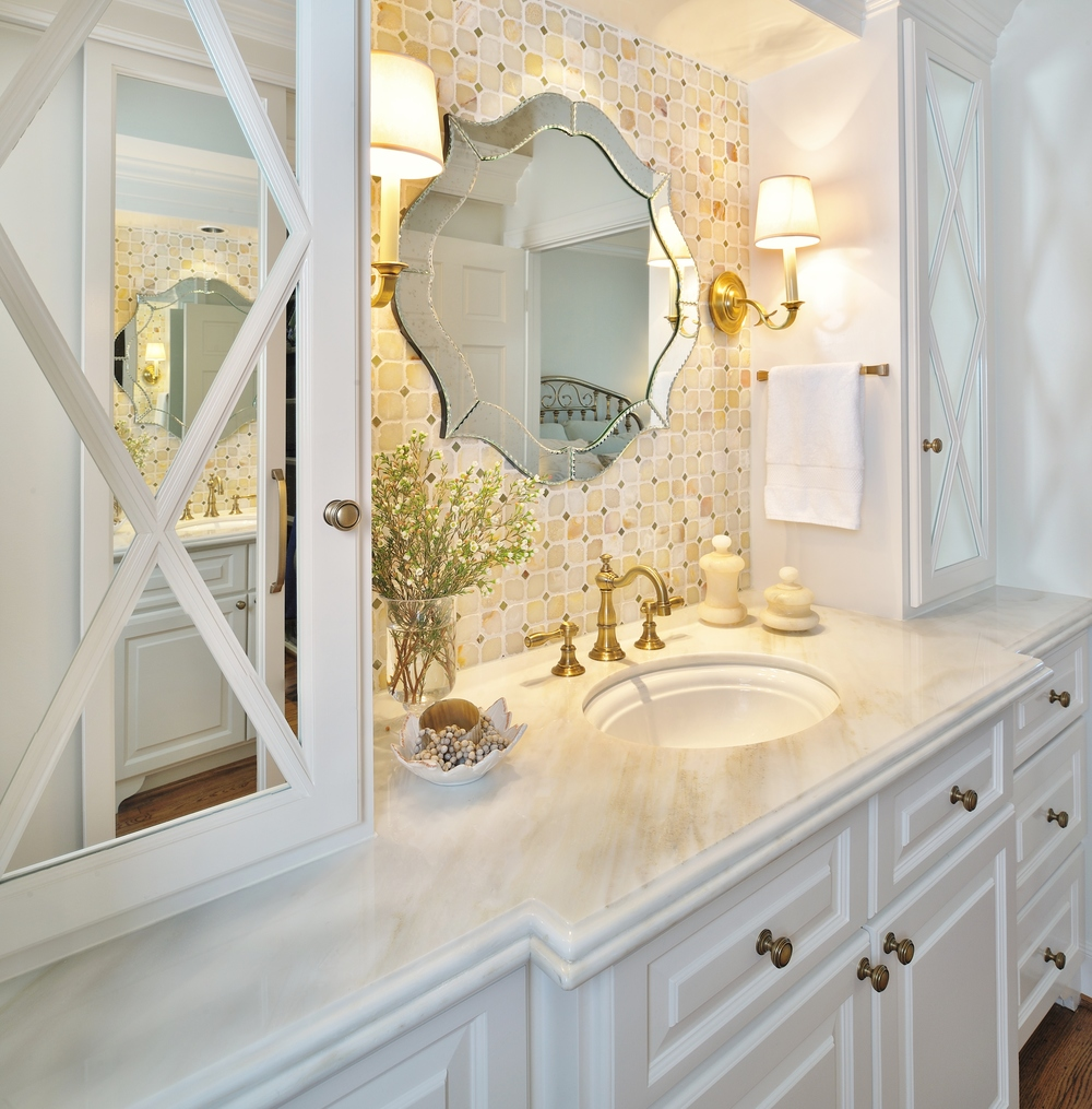 A Dark Bathroom Gets A Bright Makeover, Designer: Carla Aston