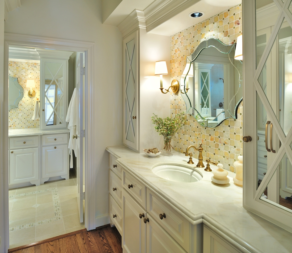 A Dark Bathroom Gets A Bright Makeover