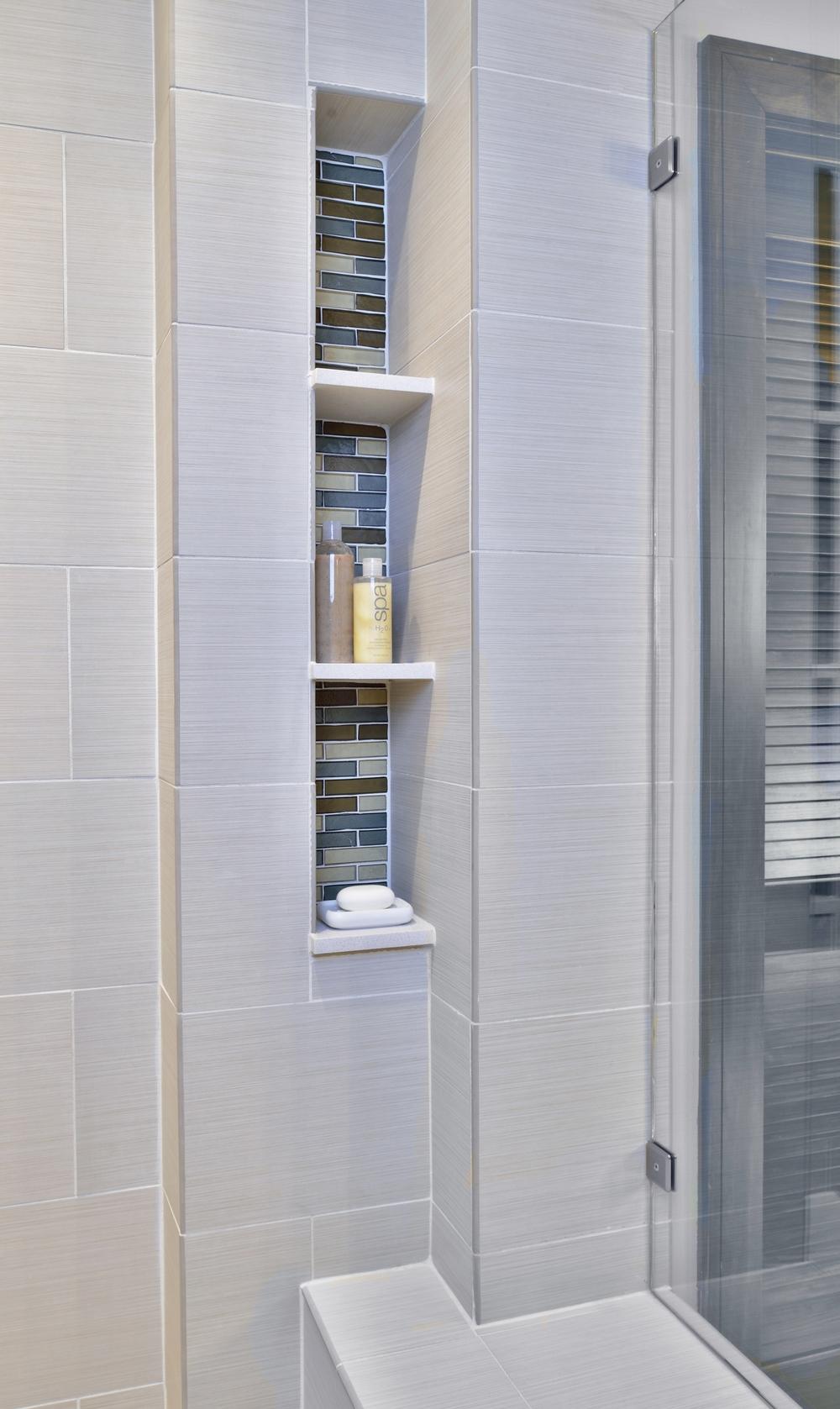 A Builder Grade Bathroom Is Made Modern