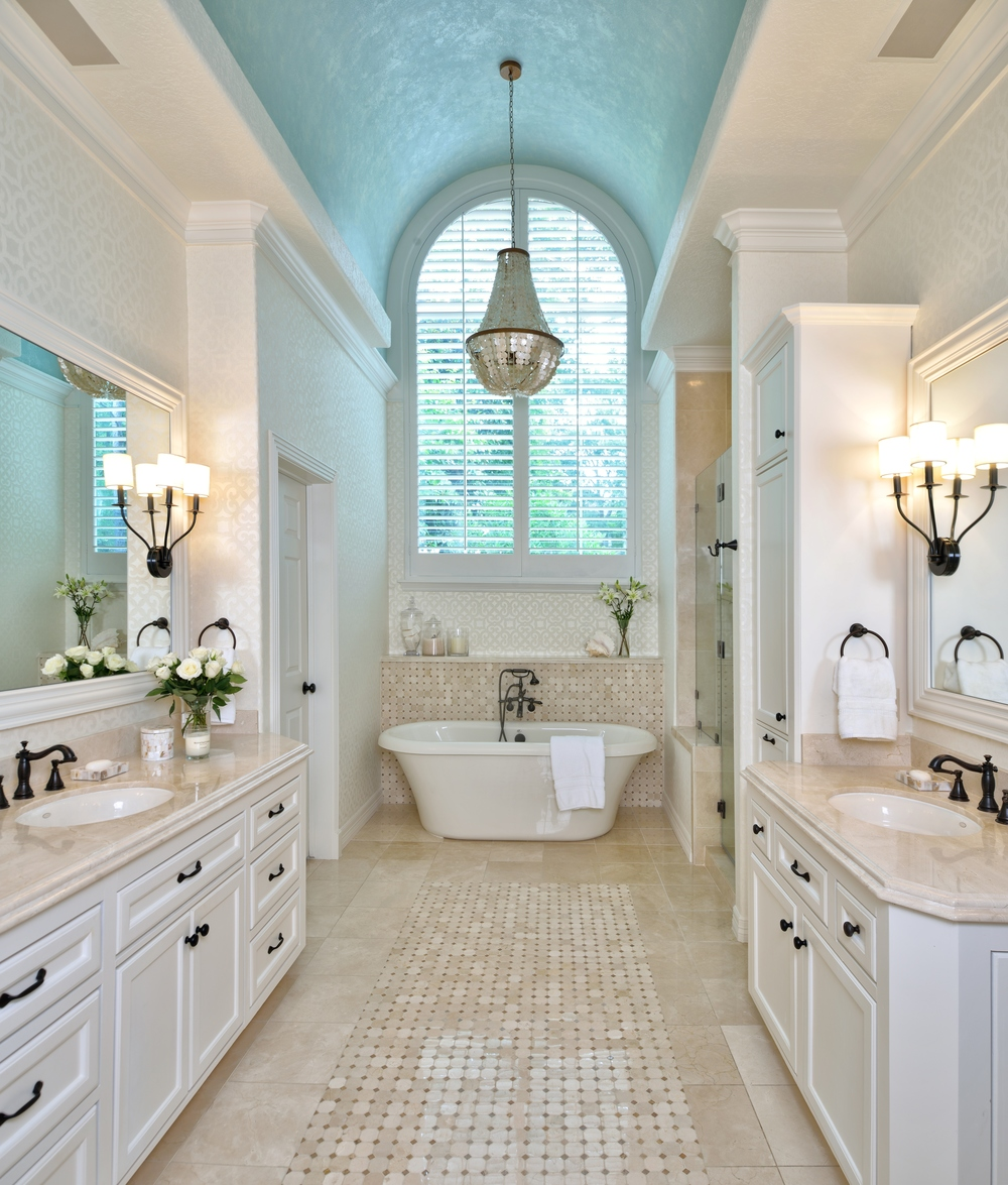 Partial Bathroom Remodel Gets A Dramatic Facelift