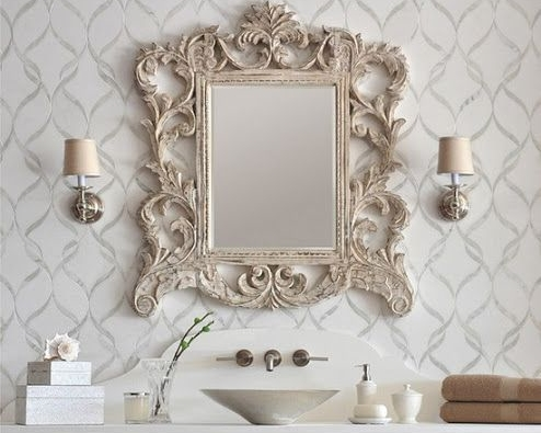 10 Must-Have Pieces of Powder Room Decor