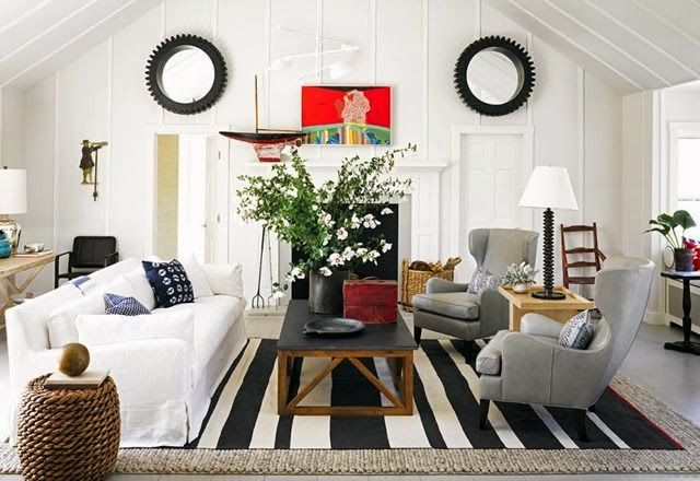 Layered Rugs Solve So Many Issues In An Interior Issues Such As