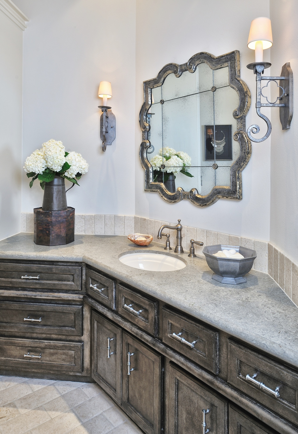 Guest Bath remodel, Designer: Carla Aston