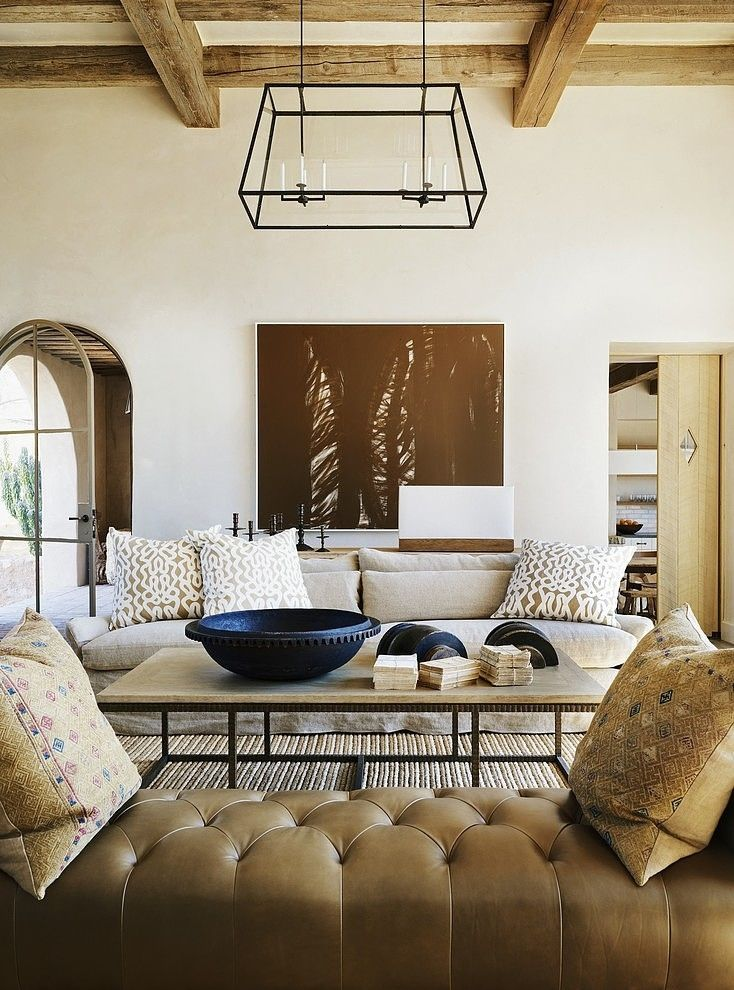 Charmant Mediterranean Living Room | DESIGNED By David Michael Miller Associates