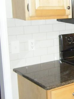 where do you end a kitchen backsplash designed