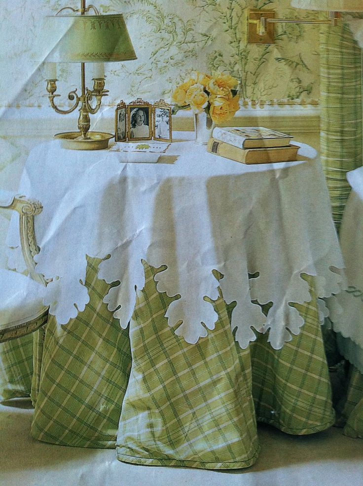 Today S Table Skirts Have A More Tailored Look Than Those