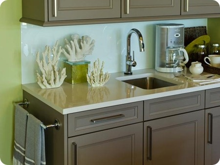 @ DESIGNED: THE ANSWER TO: WHERE DO YOU END A KITCHEN BACKSPLASH?