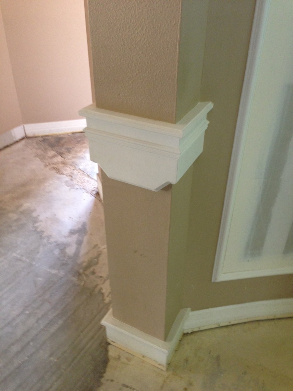 Mouldings can be a beautiful thing. However, many times they're not. Sometimes they're bulky or puny, cheaply done, outside of the contextual style of the house, and really just don't make sense.