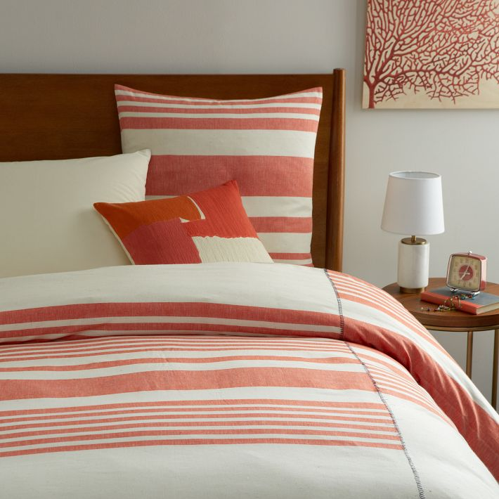Duvet Cover + Shams available @ West Elm