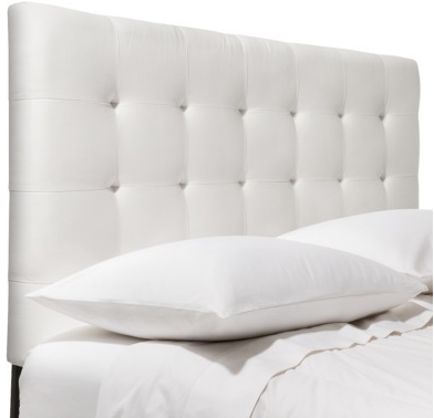 Solid Upholstered Headboards available @ Target
