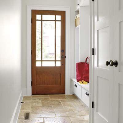 Travertine floors | Homeowners: Jeff and Jennifer Kuryluk