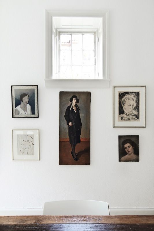 Old painted portraits will add depth and character to any room in your house. They add a sense of history and nostalgia. They add a richness and an extra layer to a room, no matter what the size.