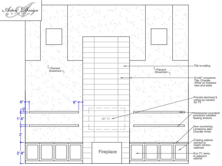 Floating shelves CAD (Click image to enlarge full-screen)