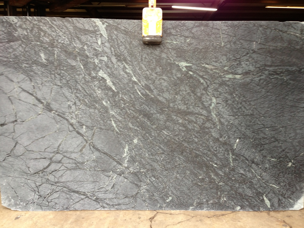 Pictured here is the slab for one of the jobs. I absolutely love the veining.
