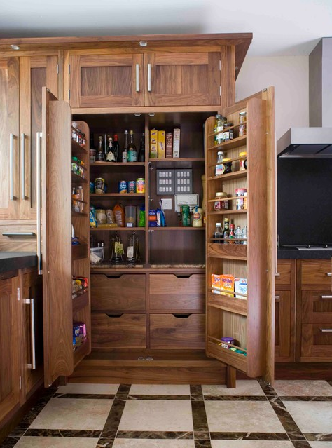 These are the best examples of kitchens featuring pantry (s) in the cabinet (s). | Designer: Moylans Design Limited