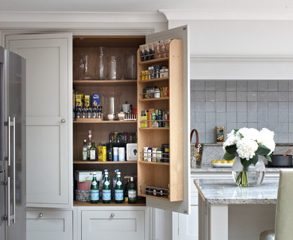 Kitchen Designs With Walk In Pantry Awesome Design Inspiration