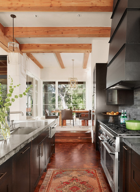 "#DESIGNREFRESH - The Best Interior Design Links of the Week ➤ SOAPSTONE COUNTERS: THEY'RE LONG-LASTING, STAY CLEAN, & YOUR KITCHEN DESERVES THEM — SEE WHY! | ""I'm currently using soapstone on a few kitchen remodels, and let me tell you: I'm thrilled to finally be able to do so!"" 